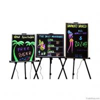 Wholesale Standing style aluminum frame advertising colorful led writing board from china suppliers