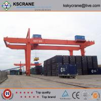 Quality A-type 5-50t/10t Double Beam Hook Gantry Crane, Portal Crane Features for sale