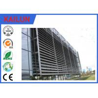 Wholesale 6000 Series External Aluminium Louvres , Durable Extruded Aluminium Sun Louver from china suppliers