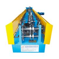 Wholesale 0.7-1.6mm C Steel Framing / C Purlin Roll Forming Machine With Track Cutting from china suppliers