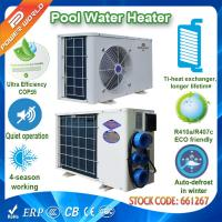 Swimming Pool Air Source Heat Pump Air To Water Heater For Mini Pool Spa Heating Of