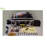 Wholesale Beginners / Professional Tattoo Kits With 20 Bottles Of Tattoo Ink /  1 Pcs Printing Paper from china suppliers