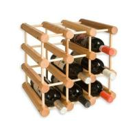 Wholesale 12 Bottle Shop Powder Coating Wooden Display Racks For Wine / Beer / Beverage from china suppliers