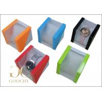 Wholesale Bright Light Plastic Watch Box PVC Window for Bangle Watches Women or Men from china suppliers