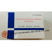 Wholesale Vitamine B Complexe Comprimes Medicine Tablet For Adults Water Soluble Function from china suppliers