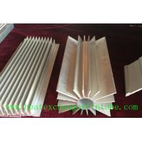 Wholesale Round Extruded Aluminum Heat Sink Profile With Small Longitudinal Fins from china suppliers