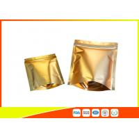 Wholesale Reusable Aluminium Foil Stand Up Coffee Packaging Bags Tea Cookie Packing Bag With Zip Lock from china suppliers