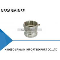 Buy cheap A , B , C , D , E , F , DC , DF Camlock Coupling Pneumatic Fittings NBSANMINSE from wholesalers