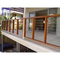 Wholesale Free sample China wholesales stainless steel rod railing with wood handrail from china suppliers