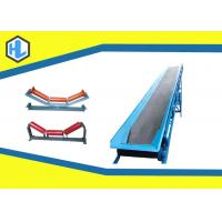 Wholesale Straight Industrial Belt Conveyors For Bulk Materials Customized Color from china suppliers