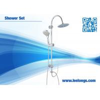 Wholesale Commercial Rain And Waterfall Roca Shower Column Set Shower Accessories With Two Hoses from china suppliers