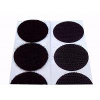 Wholesale 25mm Colored  Dots  Backed Patches 80% Nylon 20% Polyester Material from china suppliers