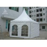 Wholesale Hexagonal White PVC Fabric Gazebo Canopy Tents Aluminum Profile from china suppliers