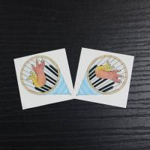 Quality Custom Design Children Fake Temporary Tattoo Sticker For Body Makeup / Art for sale