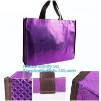 China Shopping printing fabric insulated foldable bag, custom pp non woven bag tote bag, Wholesale Clothe Storage Non Woven Ba on sale
