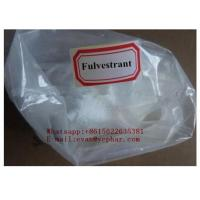 Wholesale Woman Anti Estrogen Steroids Fulvestrant For Bareast Cancer 129453-61-8 from china suppliers