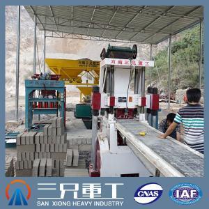 Quality MZJ600-3 Automatic Concrete Brick Making Machine for Sale for sale