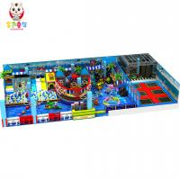 Buy cheap Most Popular Shopping Mall Children Soft Play Indoor Playground from wholesalers