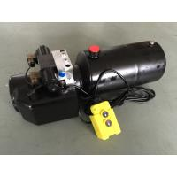 Wholesale DC 12V 1.6KW  Work Pressure 18Mpa with Round Steel Tank Mini Hydraulic Power Packs for Fork-lifts from china suppliers