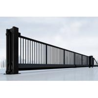Wholesale Heavy Duty Cantilever Sliding Gates , Galvanized Zinc Automatic Sliding Gate from china suppliers
