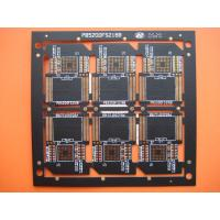 Wholesale Four Layer Black Solder FR4 Multilayer PCB Manufacturer for SD Card , OEM and Customized from china suppliers