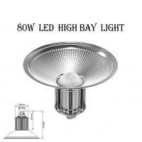 Wholesale AC100-277V 80W IP65 5 Years Warranty Aluminum LED High Bay Light Pure White from china suppliers