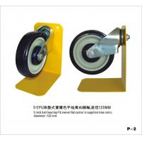 Wholesale 5 Inch Trolley Castor Wheels For Office Chair With Zinc Plating Of Caster Fork from china suppliers