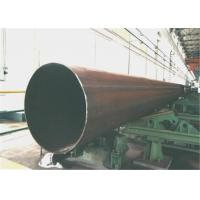 Wholesale Industrial ERW LSAW Steel Pipe With Bevelled Or Plain End , OD 219 Mm-2540 Mm from china suppliers