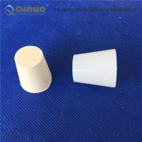 Shanghai Qinuo Manufacture Rubber Stoppers Bungs white for Test Tubes / Bottles / Flasks Laboratory Lab