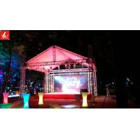 Wholesale Outdoor Party Show Aluminum Box Truss Silver / Black Color 18m Span With Tent from china suppliers