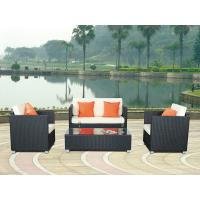 Wholesale 3pcs patio wicker sofa/rattan garden furniture  WS-005 from china suppliers
