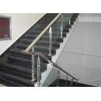 Wholesale Clear Laminated Glass, 6mm+0.76pvb+6mm Safety Staircase Railing Glass from china suppliers