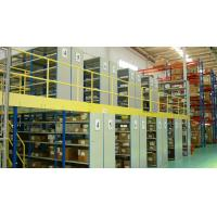 Wholesale Steel Industrial Mezzanine Floor Systems Easy Install / Dismantle Large Load from china suppliers