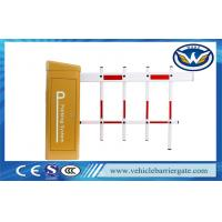 Wholesale Outdoor use 2 Fence Arm Automatic Boom Barrier Gate DC PMSM Serve Motor from china suppliers