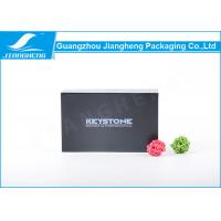 Wholesale SGS Approval Essential Oil Packaging Boxes Book Shape Black Gift Paper Cardboard from china suppliers