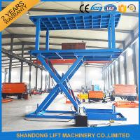 Wholesale 6T 3M Double Deck Car Parking System Hydraulic Mobile Electric Garage Car Lift with CE from china suppliers