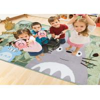 Wholesale Black / White Color Custom Area Rugs For Noise Reduction Not Shrinking from china suppliers