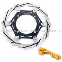 Wholesale Oversize Stainless Steel Brake Discs With Adaptor For Dirt Bike Parts from china suppliers