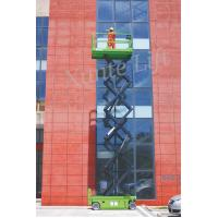 Wholesale DC Motor drive Self Propelled Scissor lift acess platform max working height 10m from china suppliers