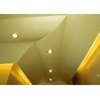 Hollow Pattern Custom Ceilings  Roof Decorated With Singular Structures