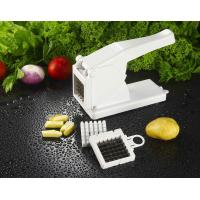 Wholesale 2 blade home White ABS potato chipper, Kitchen Aid Grater with cupule from china suppliers