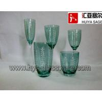 Wholesale Engraved flute/champagne wine glasses, tumblers, hiball glasses, 2014 new products from china suppliers