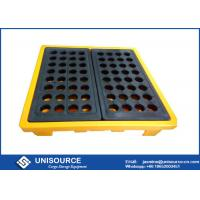 Wholesale Rotomolding Four Drum Stackable Plastic Pallet , Plastic Shipping Pallets With Heavy Load from china suppliers