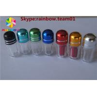 Wholesale hexagonal shape empty capsule bottle for single pills with metal cap penis enlargement capsules pill capsule container from china suppliers