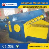 Wholesale high cost-effective Alligator crocodile type Scrap Shear and cutter machine Q43-2000 with 800mm brade length from china suppliers