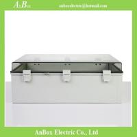 Wholesale 600x400x220mm ip66 PC clear waterproof hinged plastic box hinged box from china suppliers