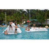 Wholesale 0.9mm PVC Tarpaulin Inflatable Water Park Games For Pool / Adults Water Games from china suppliers