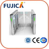 Buy cheap Pedestrian Control Security Swing Barrier Gate With Mifare -1 Card from wholesalers
