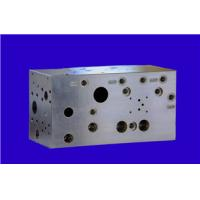 Wholesale Carbon steel Material CNC machining parts , Hydraulic control valve block from china suppliers