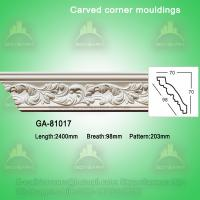 Wholesale Good Quality European- style Decorative PU Carved Crown Moulding for Ceiling from china suppliers